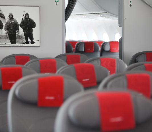 Shackleton interior Premium cabin